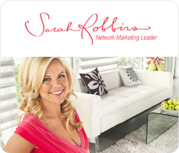 Sarah Robbins, network marketing leader
